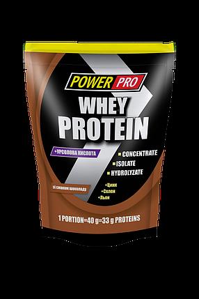 Протеїн Power Pro Whey Protein 1 кг (шоколад), фото 2