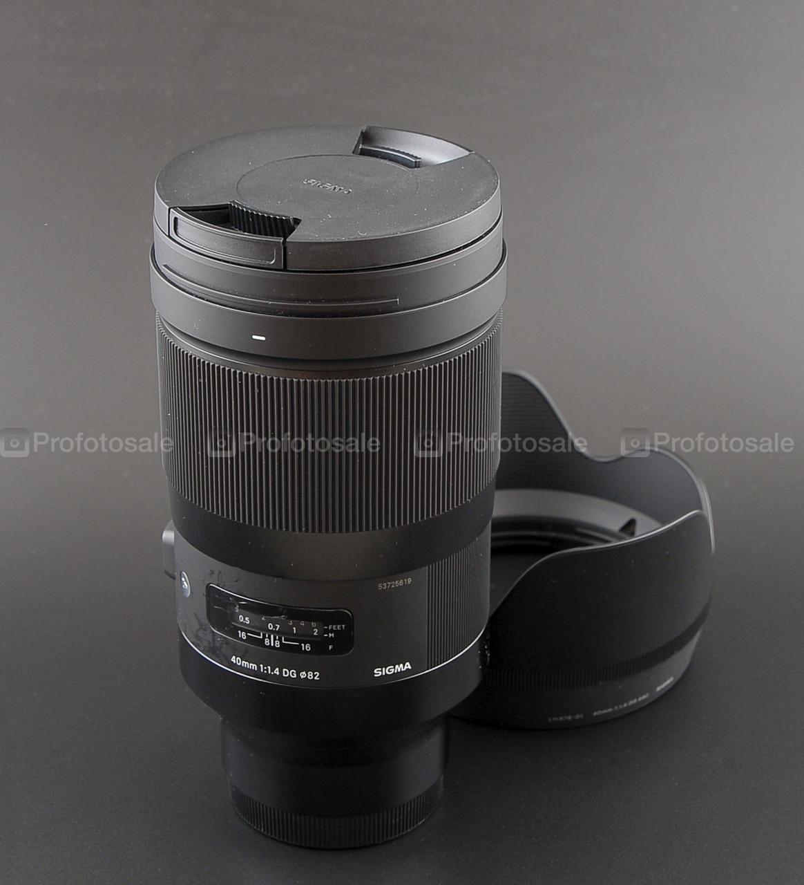 Sigma ART 40mm f1.4 DG (Sony E-mount)