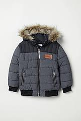 Куртка HM 116 см Серый 6250438, КОД: 1638600