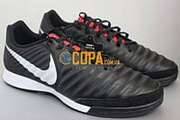 Кожаные футзалки Nike LegendX 7 Academy IC AH7244-006, фото 1