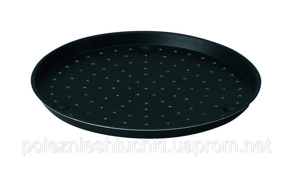 Форма Lacor для пиццы с антиприганым покрытием перфорированная 32 см. алюминиевая (67832)