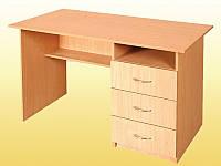 Стол письменный, с 3 ящиками – 1200х600х750 мм