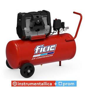 Безмасляный компрессор Supersilent50 XS88 75 ресивер 50 л пр-сть 140 л/мин 1129102962 Fiac