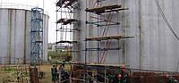 Ремонт стальных вертикальных резервуаров