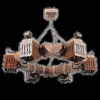 Люстра подвесная 6 плафонов Е14 серии MINI шуба 463316