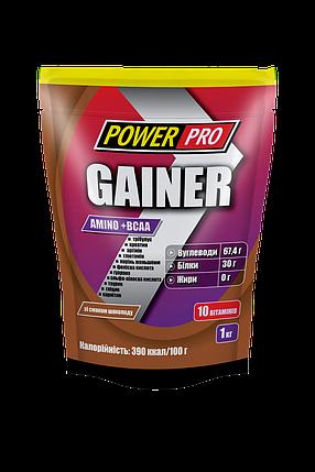 Гейнер Power Pro Gainer Amino+BCAA, фото 2