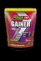 Гейнер Power Pro Gainer Amino+BCAA 1 кг (шоколад)