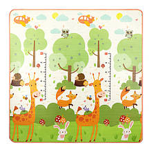Розвиваючий дитячий килимок двосторонній 4FIZJO KIDS 180 x 180 x 1 см 4FJ0163