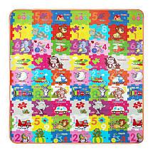 Розвиваючий дитячий килимок двосторонній 4FIZJO KIDS 180 x 180 x 1 см 4FJ0164, фото 3