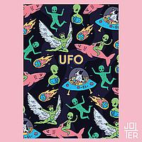 Скетчбук А5 130стр UFO в мягкой обложке
