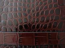 Борсетка мужская кожаная WANLIMA (ВАНЛИМА) W21109480028-dark-coffee, фото 3