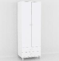 Шкаф в спальню, прихожую, на балкон белый