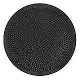 Балансировочная подушка (сенсомоторная) массажная Springos PRO FA0084 черная. Балансировочный диск, фото 5