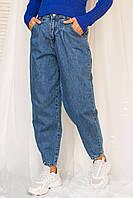Джинсы бананы с высокой талией LUREX - джинс цвет, 29р (есть размеры), фото 1