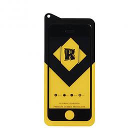 Защитное стекло R Yellow for Apple Iphone 5/5s без упаковки