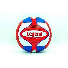 Мяч волейбольный PU LEGEND VM-16 (PU, №5, 3 слоя)