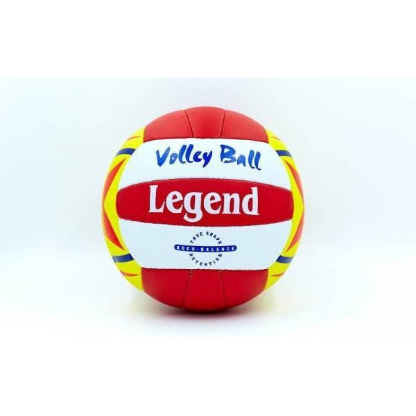Мяч волейбольный LEGEND VM-25 (PU, №5, 3 слоя)