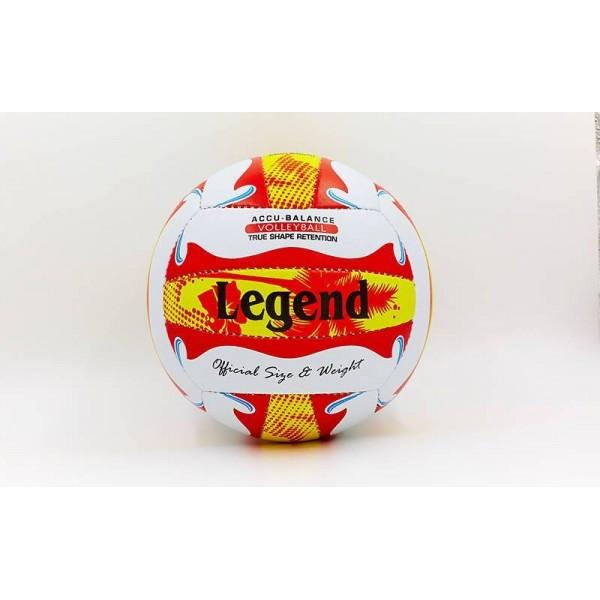 Мяч волейбольный LEGEND VM-33 (PU, №5, 3 слоя)