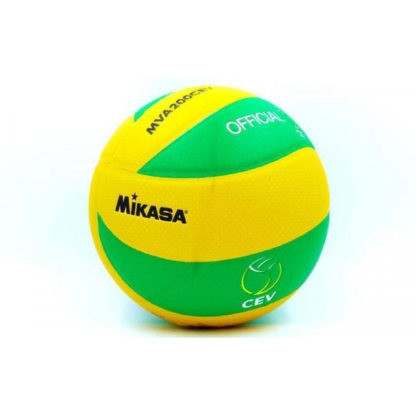 Мяч волейбольный Клееный PU MIK  MVA-200CEV