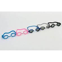 Очки для плавания детские BUBBLE 3 OK-54 (поликарбонат, TPR, силикон,  цвета в ассортименте)