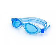 Очки для плавания детские SPEEDO FUTURA PLUS JUNIOR (голубой)