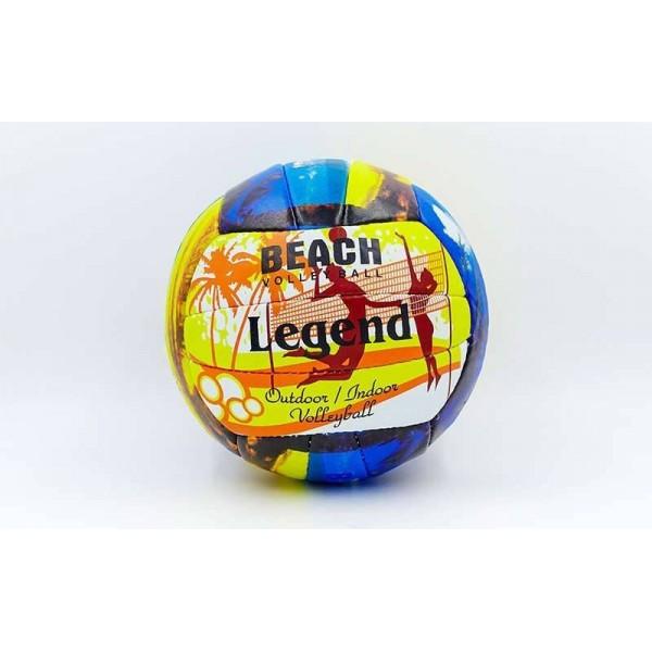 Мяч волейбольный PU LEGEND (PU, №5, 3 слоя, сшит вручную) VM-53