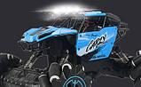 Машинка внедорожник для дрифта на радиоуправлении Carzy blue, фото 4