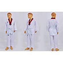 Добок кимоно для тхэквондо MOOTO ITF (р-р 1-7 (110-170см), 240г/м2) KT-4