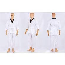 Добок кимоно для тхэквондо WTF UR (р-р 30-42 (110-164см)) KT-8