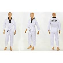 Добок кимоно для тхэквондо WTF (р-р 00-3 (120-160см)) KT-9