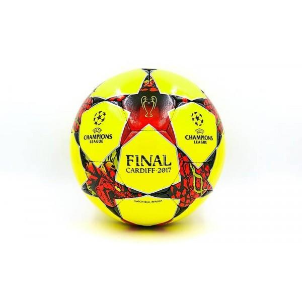 Мяч футбольный №5 PU ламин. CHAMPIONS LEAGUE MF-228
