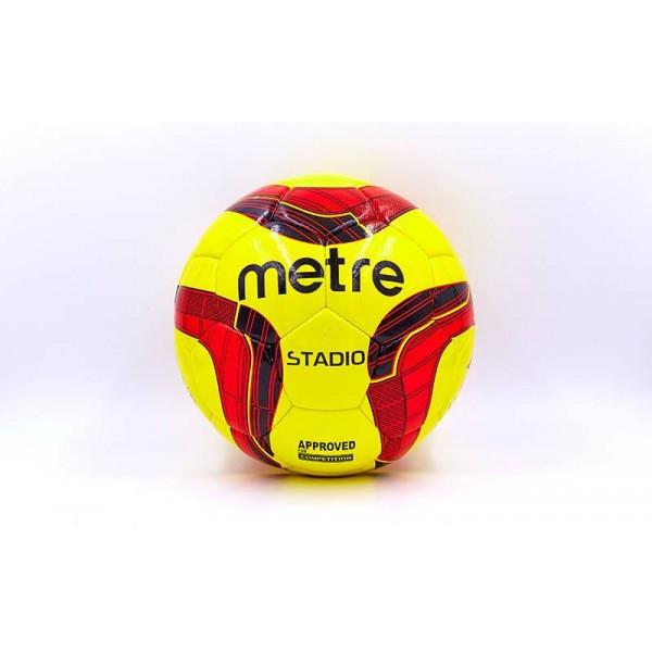 Мяч футбольный №5 PU ламин. METRE (5 сл., сшит вручную)