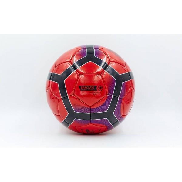 Мяч футбольный №5 PU ламин. PREMIER LEAGUE (5 сл., сшит вручную)
