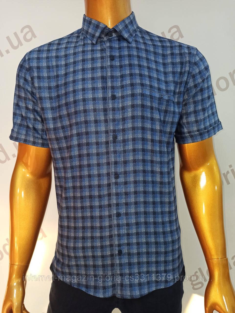 Мужская рубашка Amato. AG.19501(s). Размеры:L,XL(2), XXL.