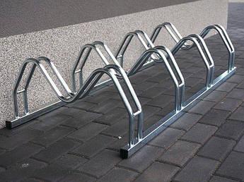 Велопарковка на 5 велосипедів Smile-5 Польща