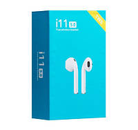 Бездротові Навушники Unit i11 TWS Sensor Stereo Bluetooth 5.0 Білий, фото 1