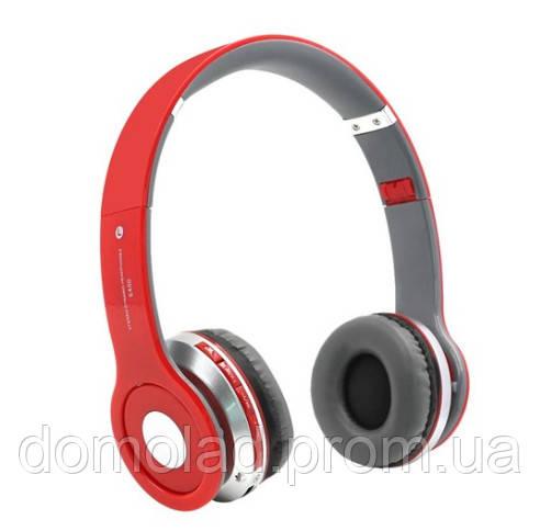 Наушники Беспроводные Накладные HEADSET S450 Bluetooth Гарнитура FM Приемник