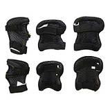 Комплект защитный SportVida SV-KY0001-L Size L Black-Green SKL41-227690, фото 4