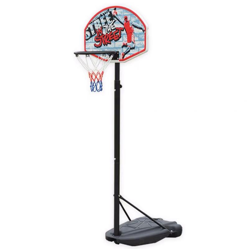 Стойка баскетбольная со щитом (мобильная) KID