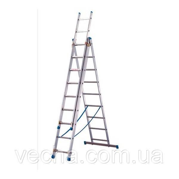 Кентавр лестница трехсекционная 3х14 р/в 10,01 метров