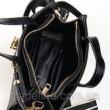 Сумка Женская Классическая иск-кожа FASHION 7-03 8222 black, фото 3