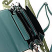 PODIUM Сумка Женская Классическая иск-кожа FASHION 7-03 88022 green, фото 4