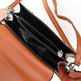 PODIUM Сумка Женская Классическая иск-кожа FASHION 7-03 702 brown, фото 4