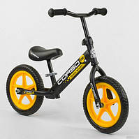 Беговел для ребенка от 2 3 4 лет Corso 15004 колеса 12 пена