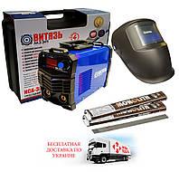 Сварочный инвертор Витязь ИСА 380И + маска сварщика (хамелеон)+2кг электродов 3мм+чемодан, фото 1