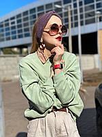 Повязка-чалма на волосы женская полушерсть, фото 1