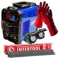 Зварювальний інвертор Витязь ІСА 380 +рукавички зварника (вогнетривкі)+1 кг електродів 3мм+окуляри зварника