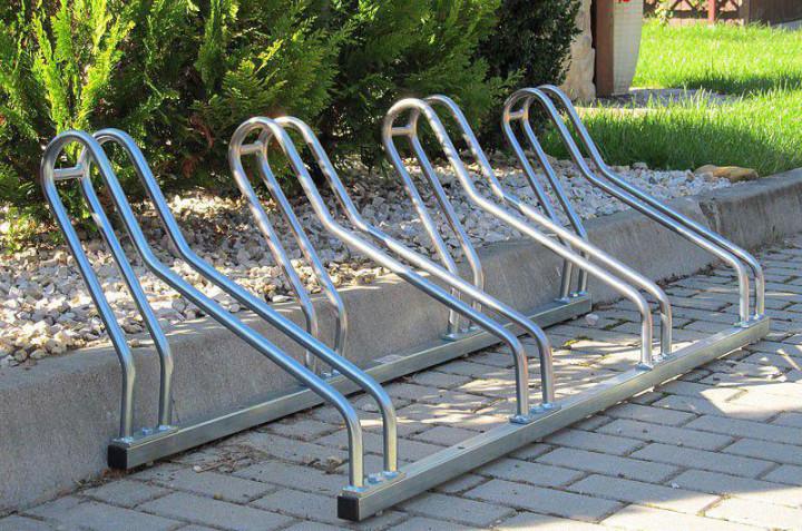 Велопарковка на 4 велосипеда