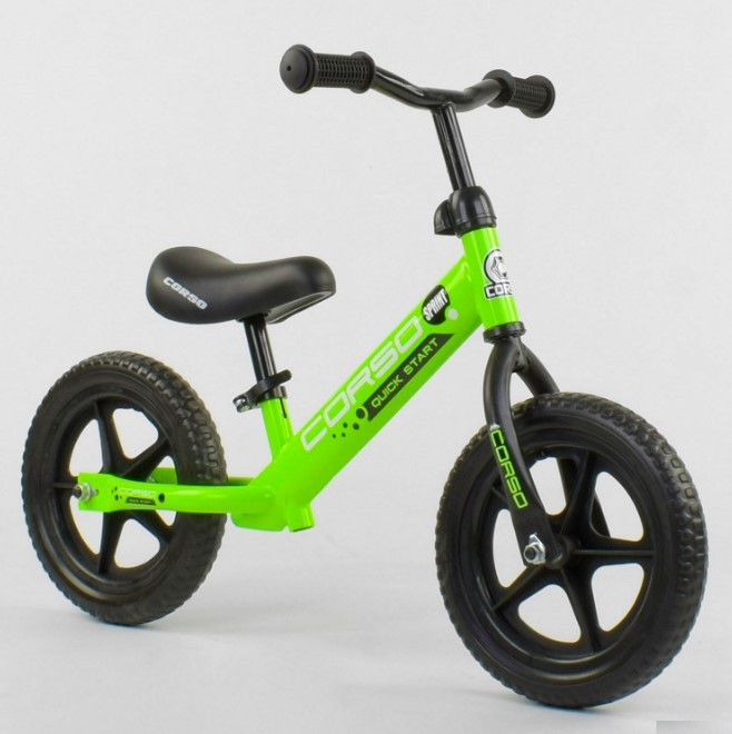 Беговел для детей от 2 3 4 лет Corso 19005 колеса 12 пена