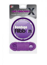 Набор BONDX BONDAGE RIBBON & LOVE ROPE. PURPLE